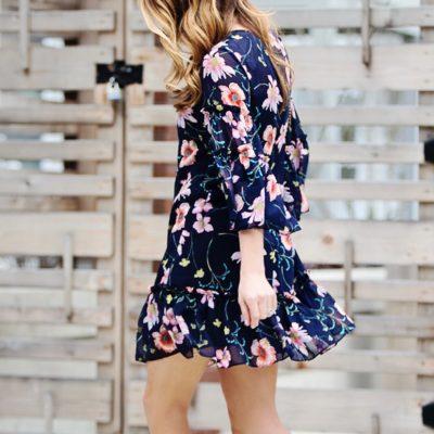 Winter Florals + 2018 Dress Trends