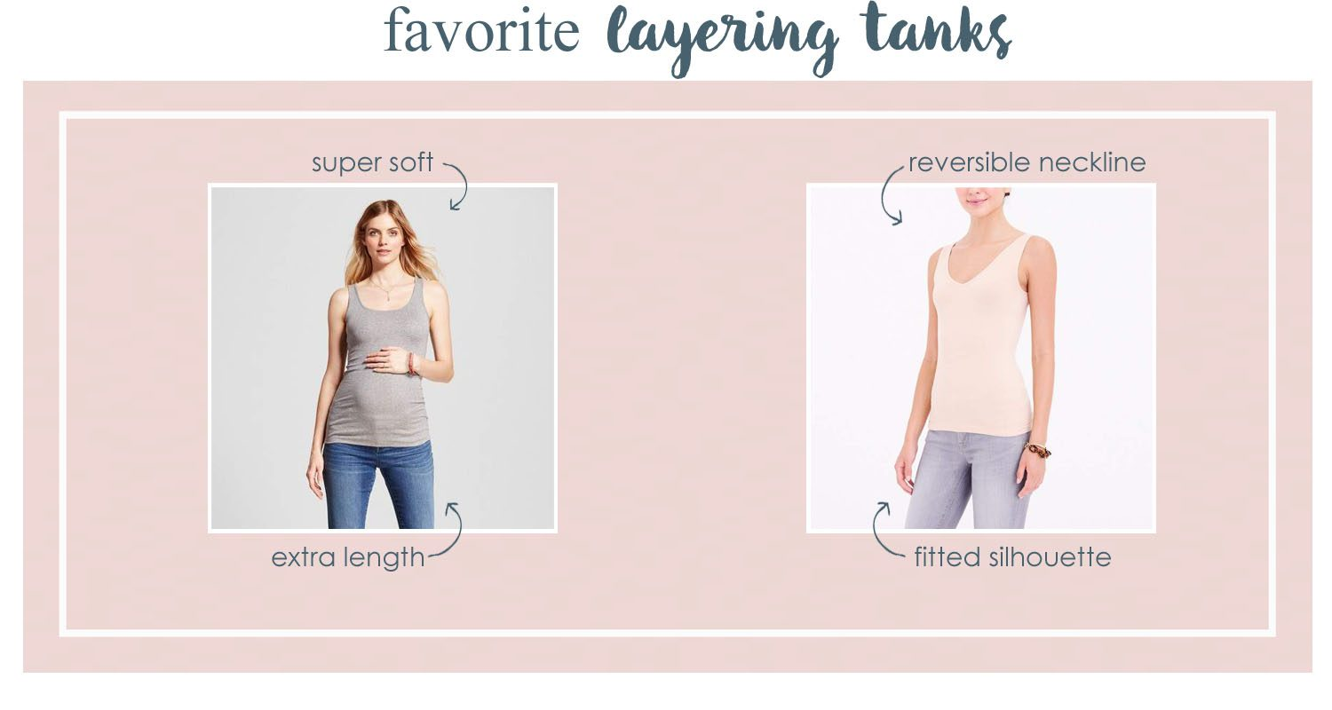the motherchic layering tanks