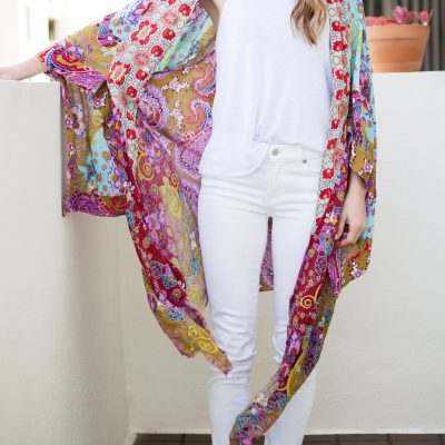 Spring Sneak Peek: How to Wear a Kimono