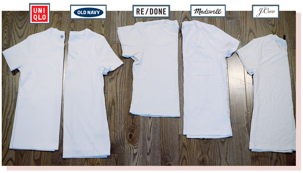 the motherchic best white tees