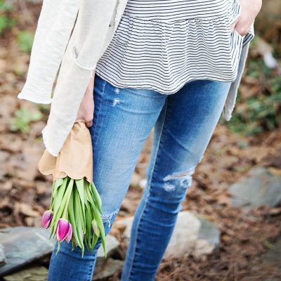 The Cutest Tees for Spring + Transitional Jackets
