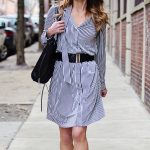 Workwear Dresses: The Striped Shirtdress