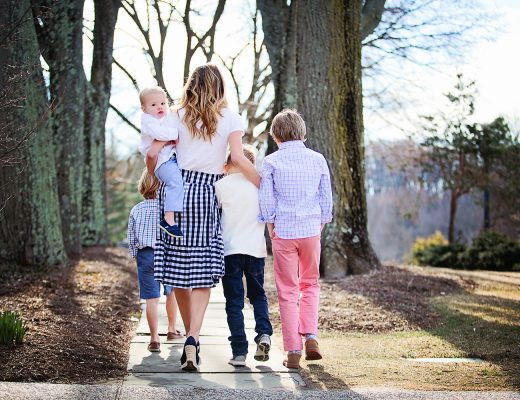 The Motherchic easter outfit ideas with J.Crew Factory