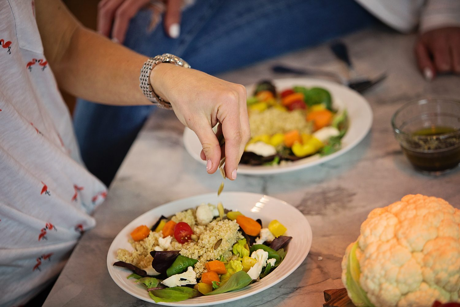 The Motherchic power lunch salad recipe