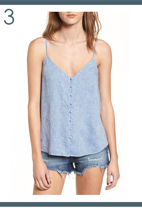 the motherchic button cami