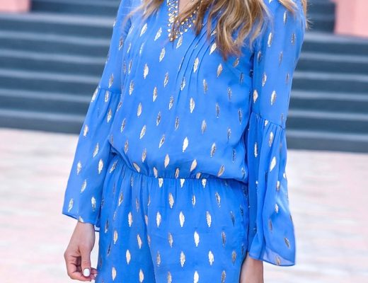 The motherchic wearing lily pulitzer
