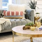 Splurge and Save Living Room Accents