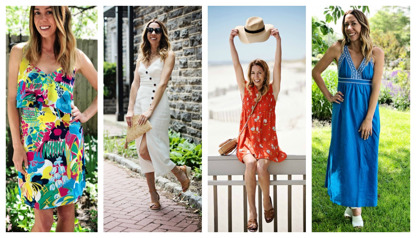 8989bca851ed45 Finally the weather is nice enough to break out all the summer dresses.  From florals to midis and minis there is something for everyone!