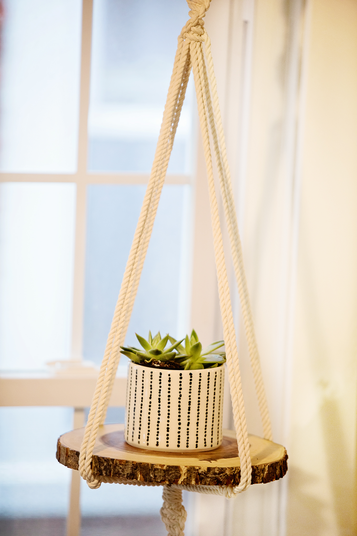 The Motherchic hanging planter from etsy