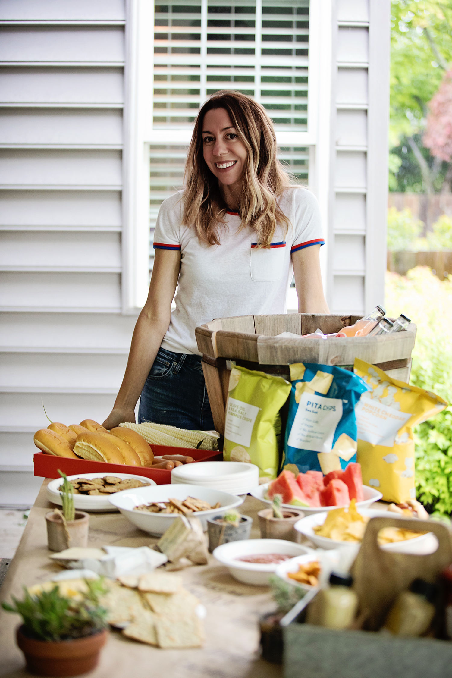 The Motherchic brandless barbecue
