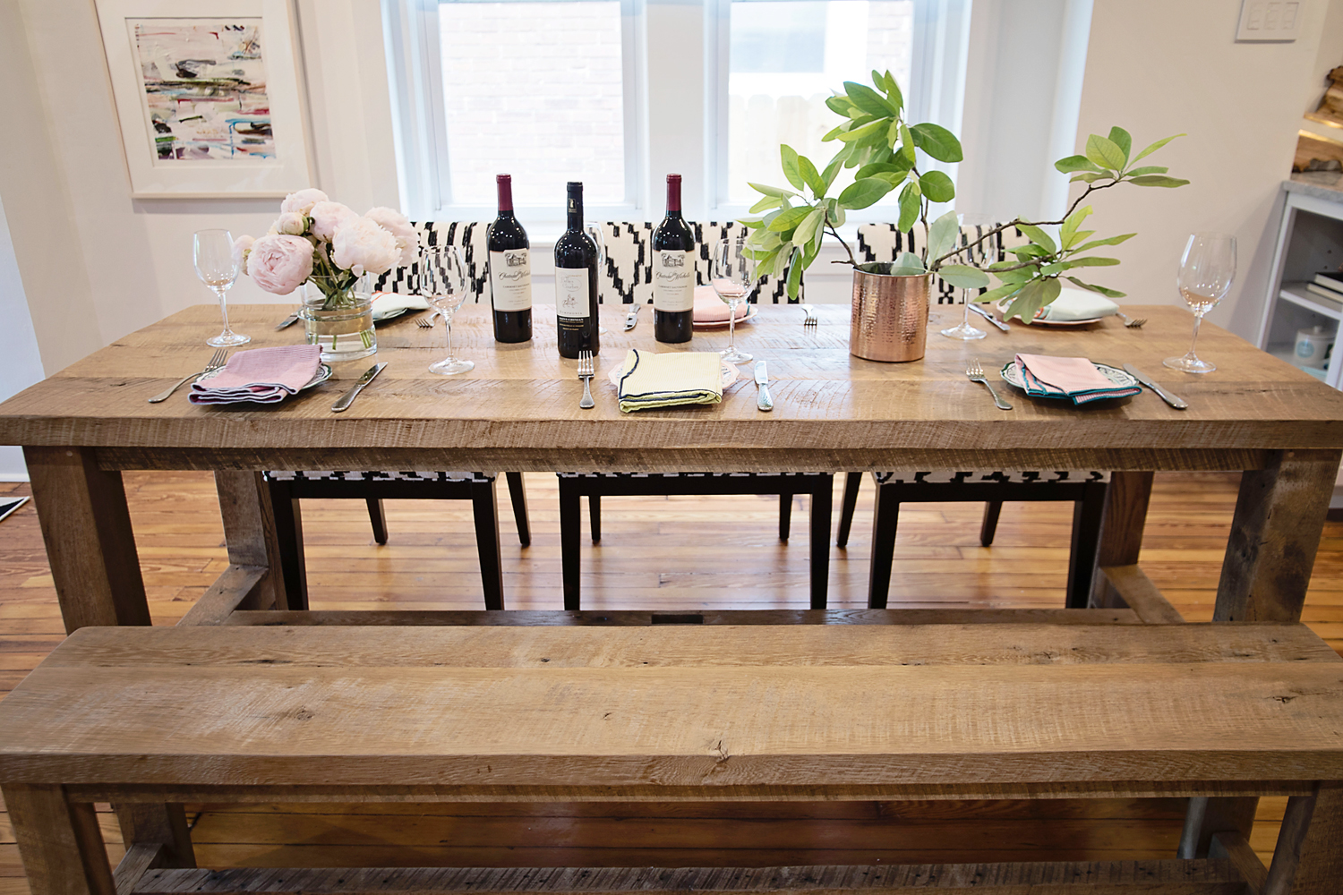 The motherchic dining room table