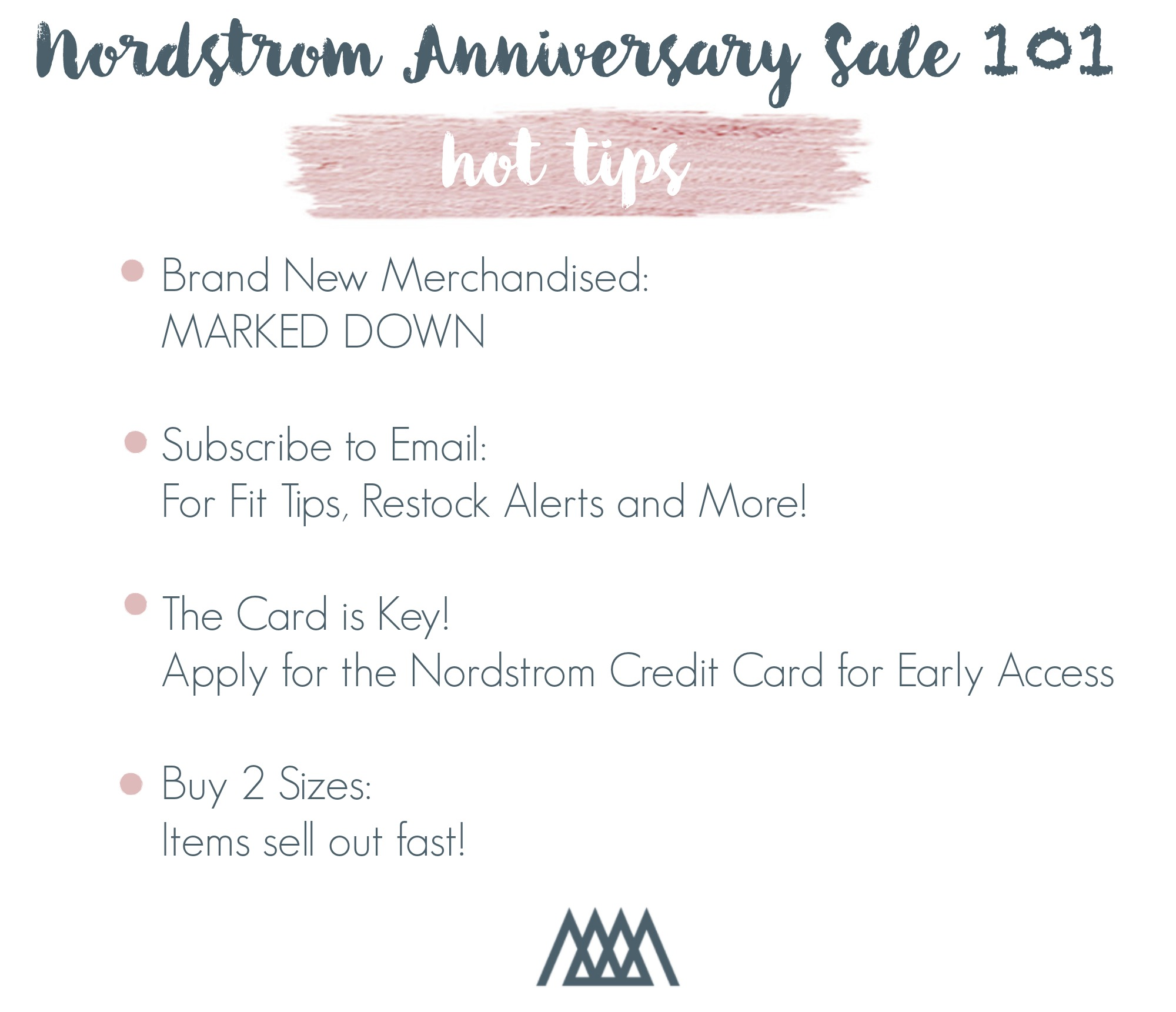THE MOTHERCHIC NORDSTROM SALE TIPS