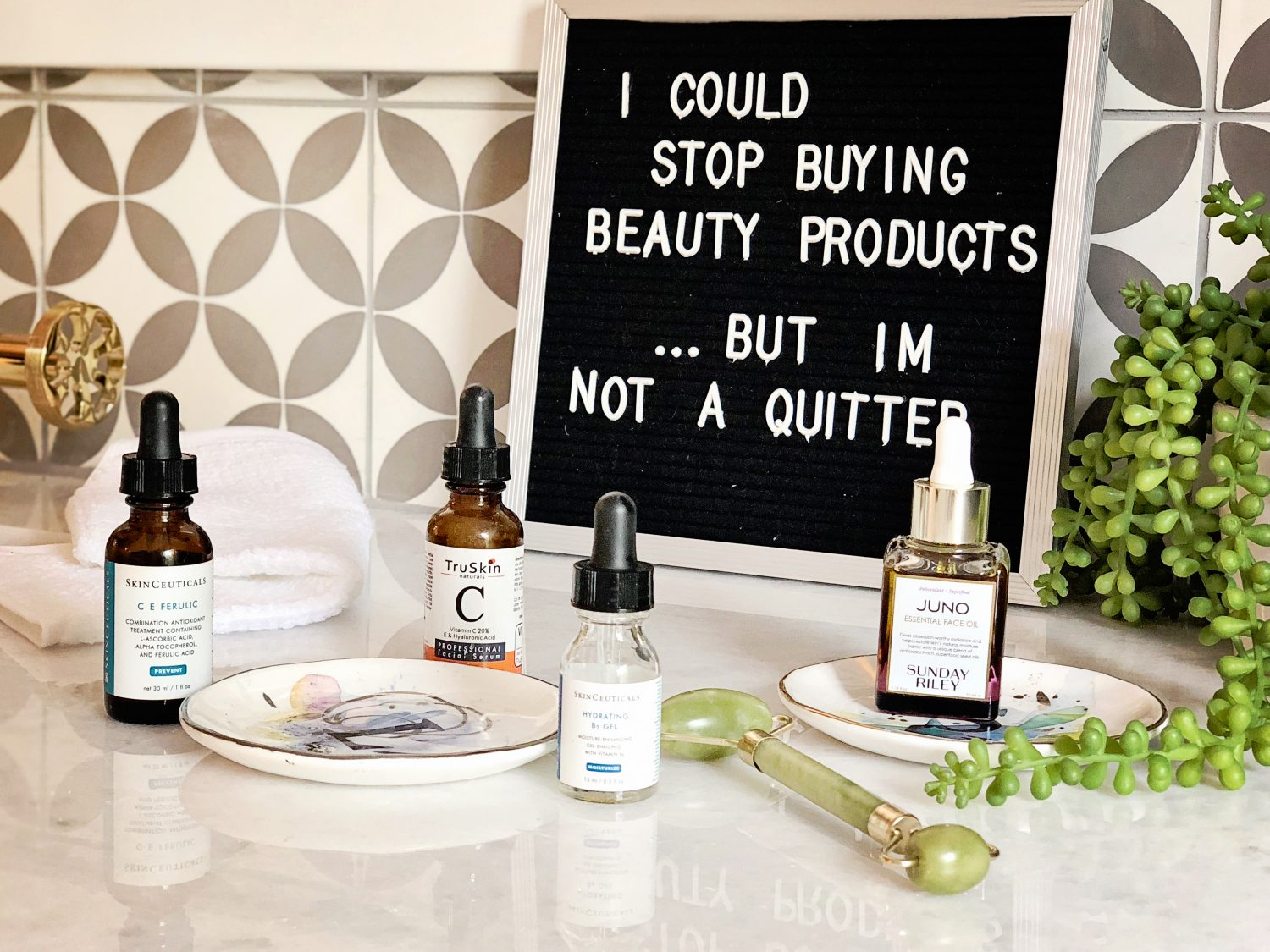 The motherhic summer skincare routine