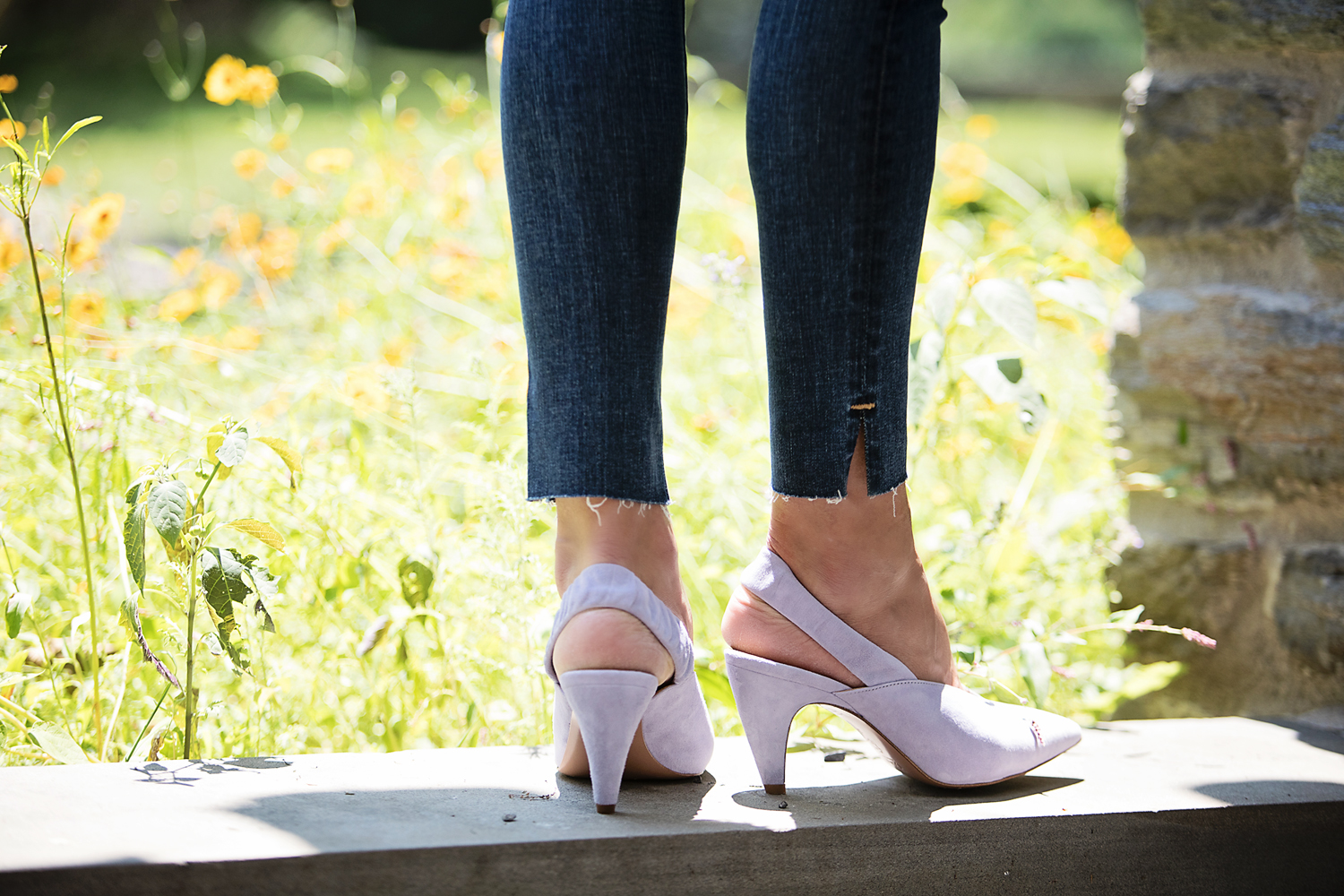 The Motherchic wearing nordstrom anniversary sale shoes
