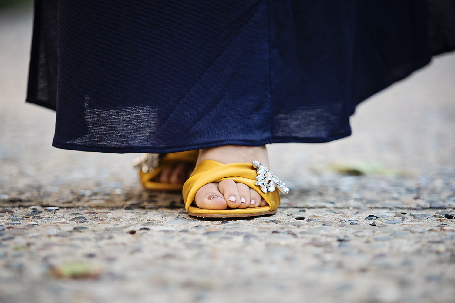 The motherchic wearing marc fisher sandals