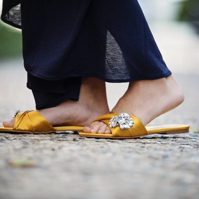 How to Wear Flats for a Special Occasion