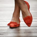 The motherchic wearing ann taylor shoes