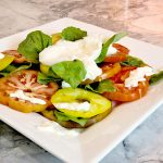 Mother Minute: Tomato and Burrata Salad