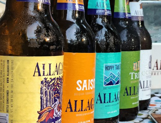 beer and cheese party with allagash