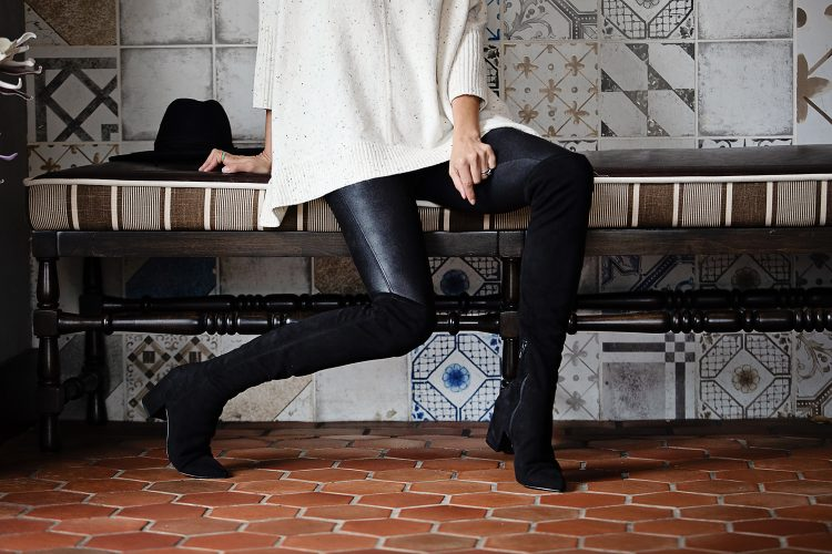 How to Wear Leather Leggings Part II