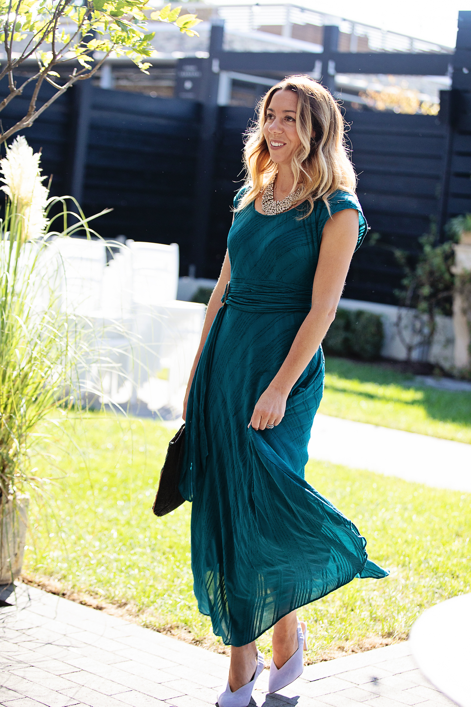 the motherchic wearing anthropologie