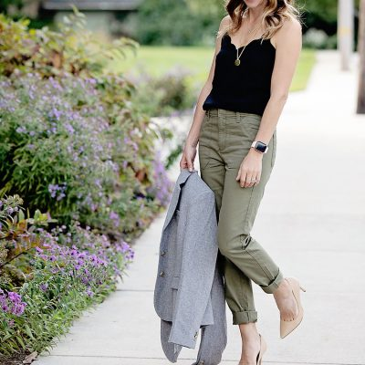 How to Style Cargo Pants Two Ways