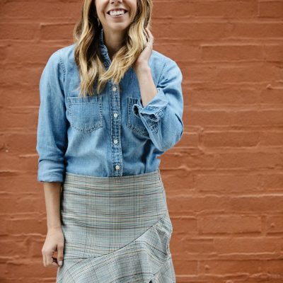 How to Wear a Chambray Shirt Eight Ways