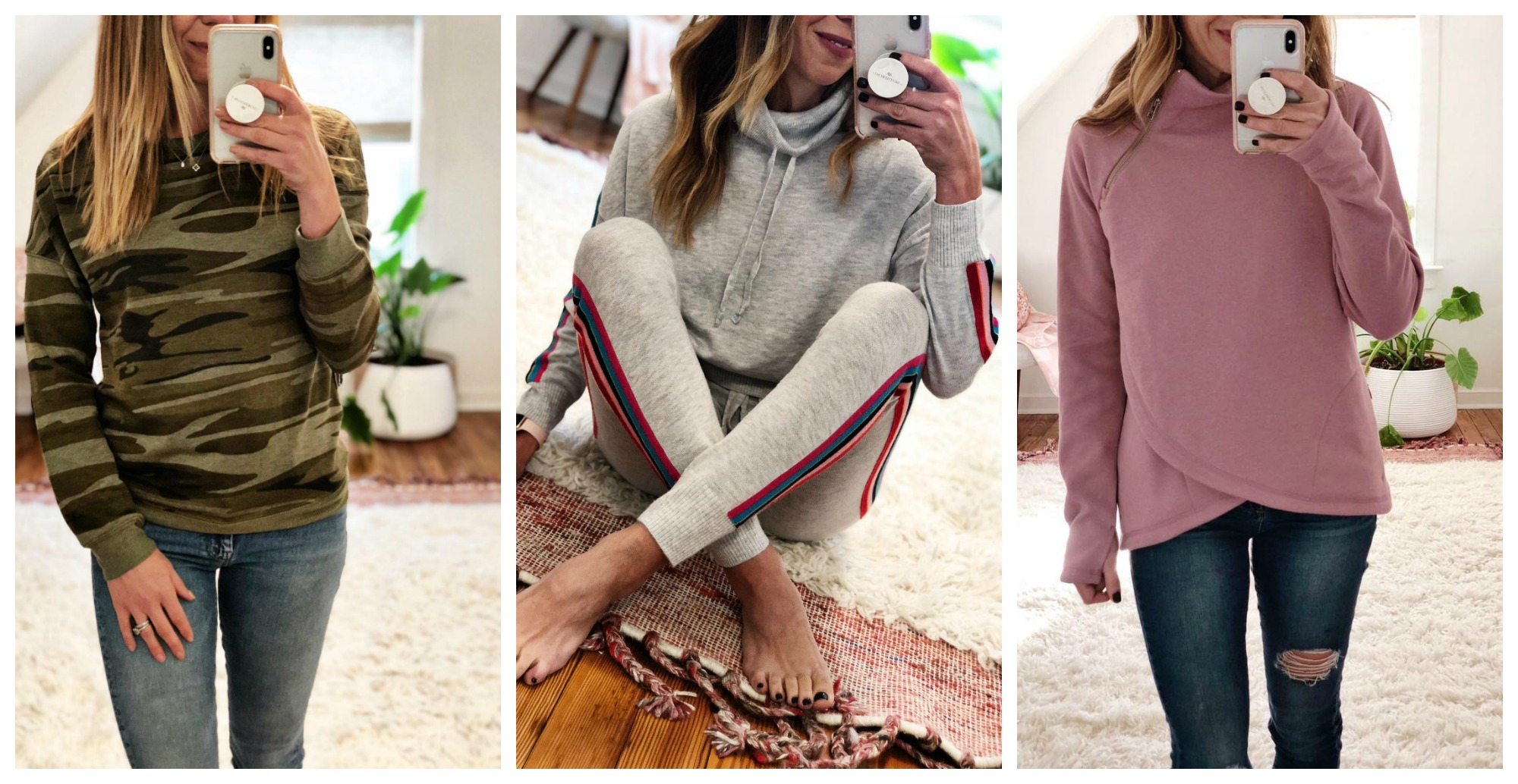 the motherchic cozy outfits