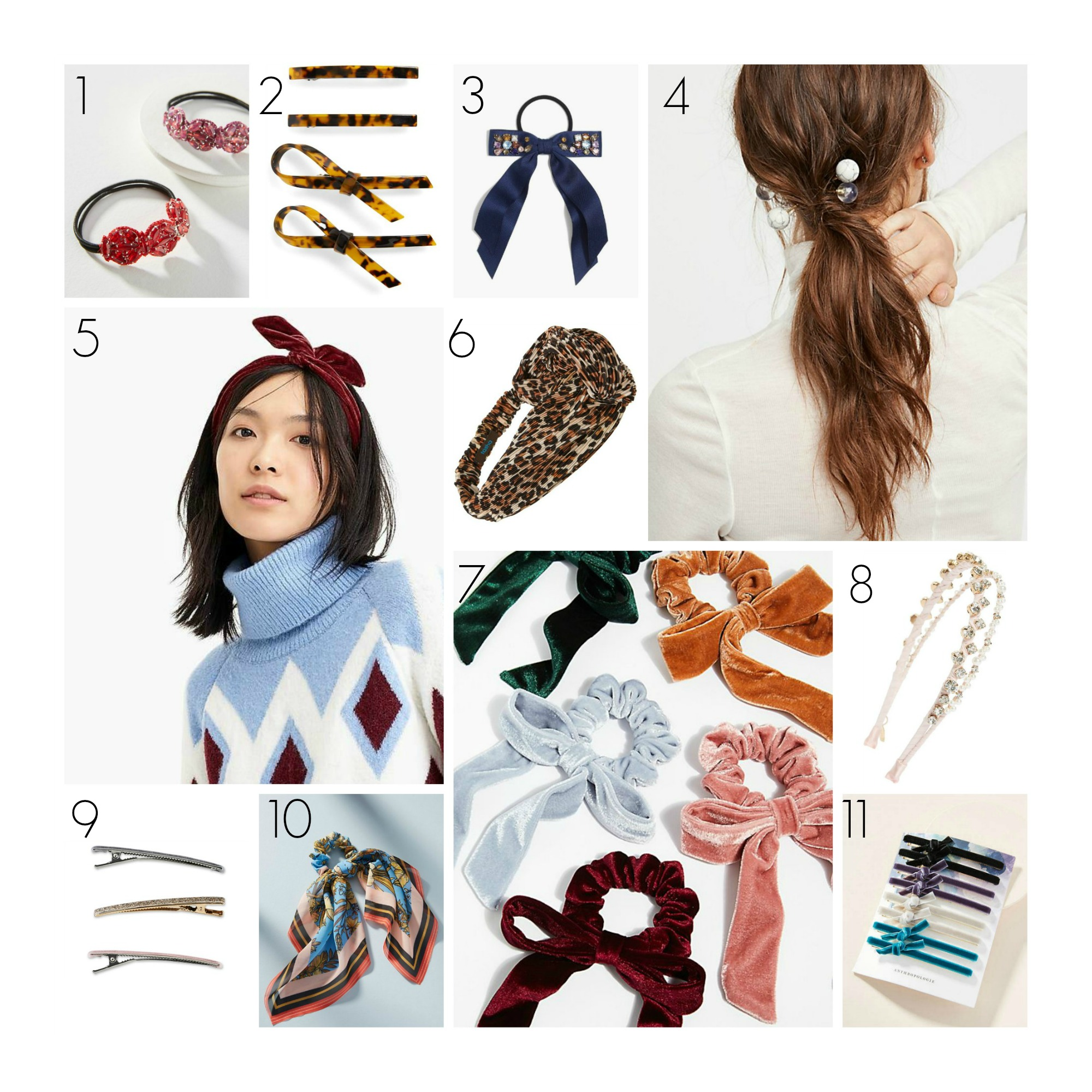 the motherchic hair accessories