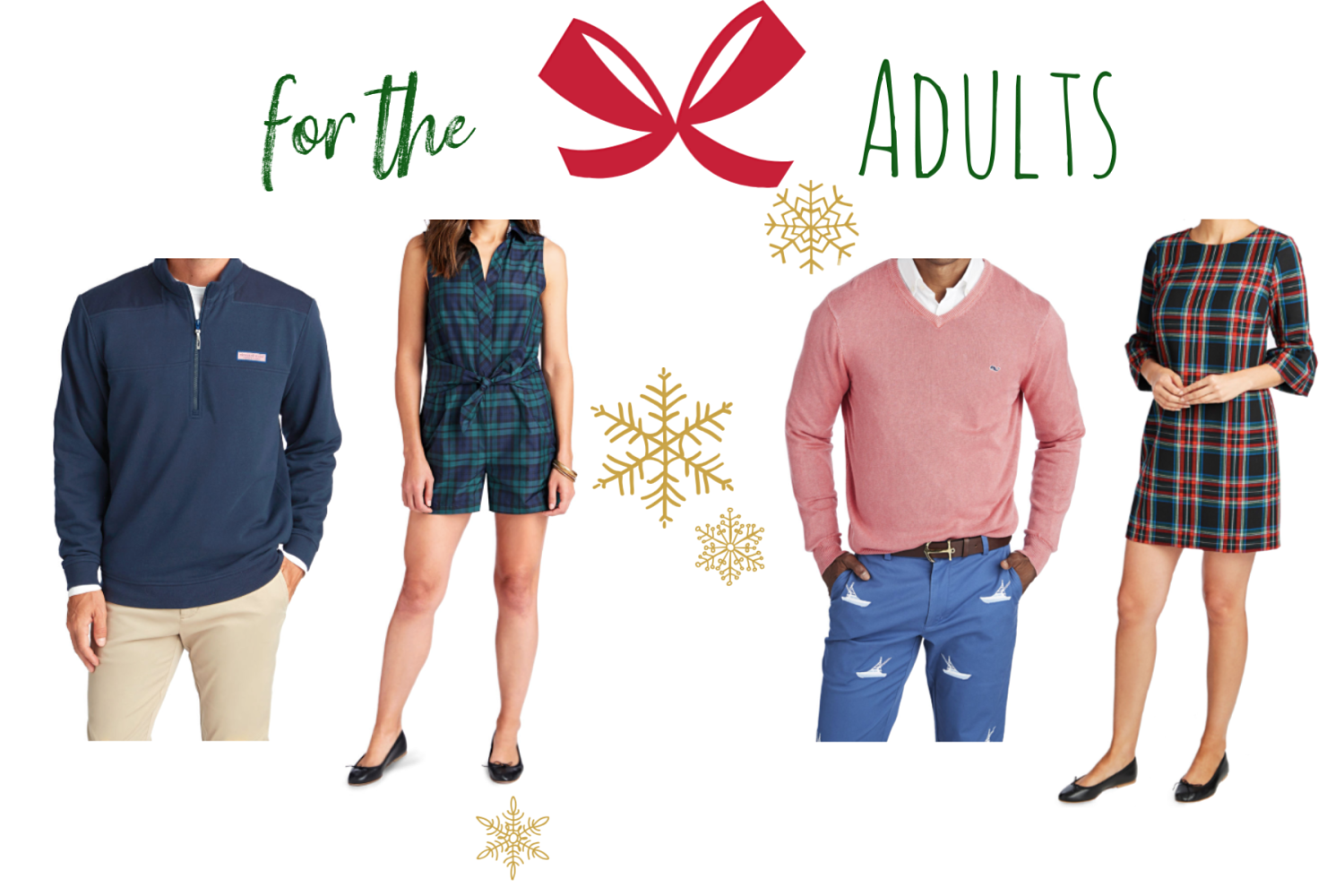 the motherchic holiday vineyard vines