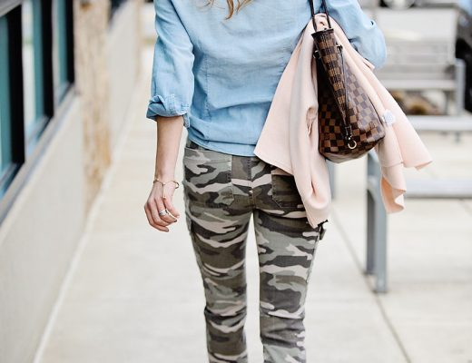 The Motherchic camo pants