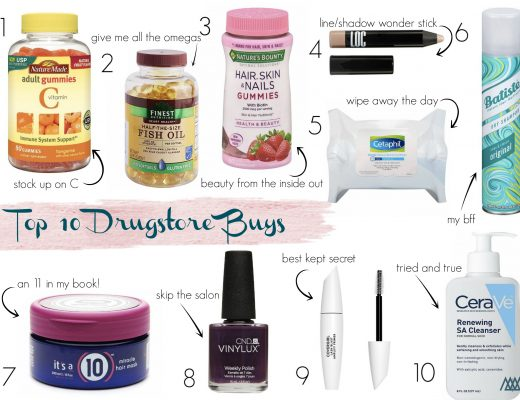 The Motherchic drugstore beauty buys