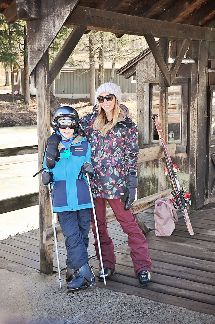 the motherchic wearing backcountry