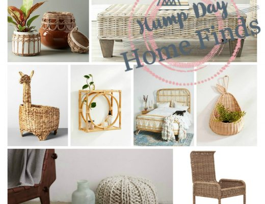 the motherchic home finds bamboo rattan straw