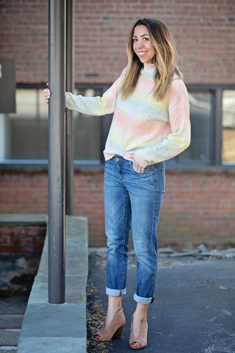 fashion style cheap price super cute How to Wear Boyfriend Jeans by Day and Night - The Motherchic