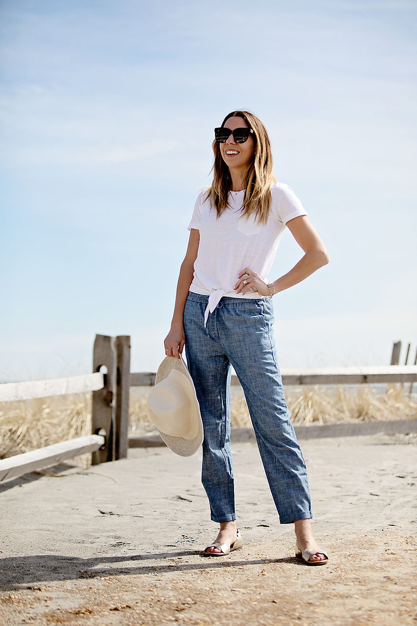 Beach To Boardwalk With J Crew Factory The Motherchic