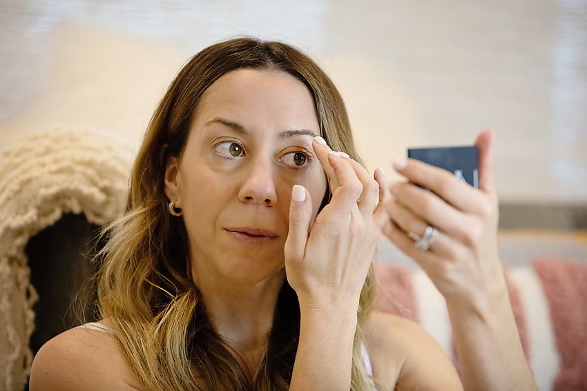 the Motherchic everyday make-up routine with Nordstrom beauty products