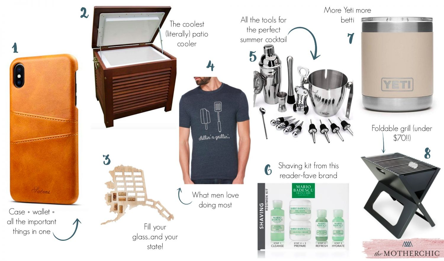 the motherchic father's day gifts