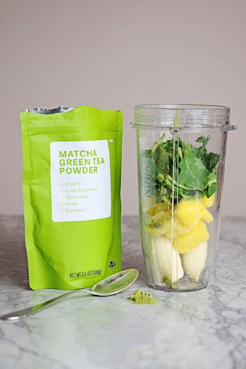 The Motherchic brandless matcha powder