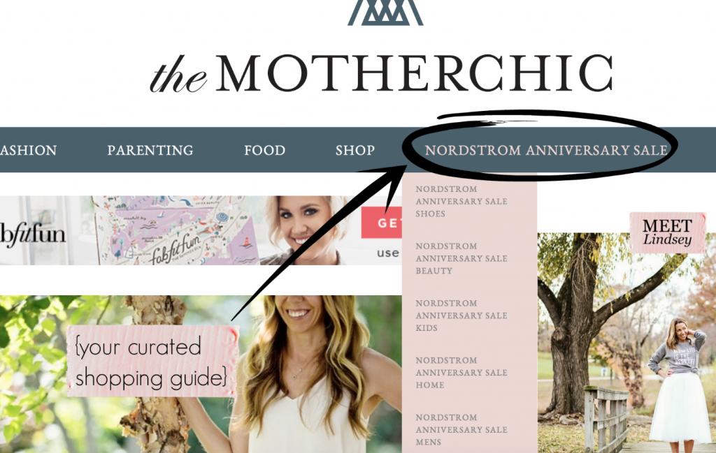 The Motherchic anniversary sale 2020