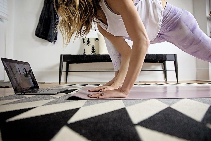 The motherchic x bulldog yoga challenge