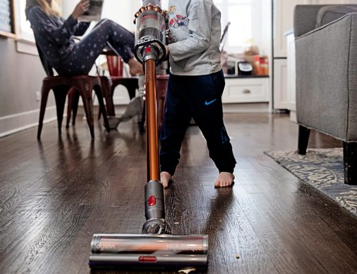 The Motherchic Dyson Vacuum cleaner