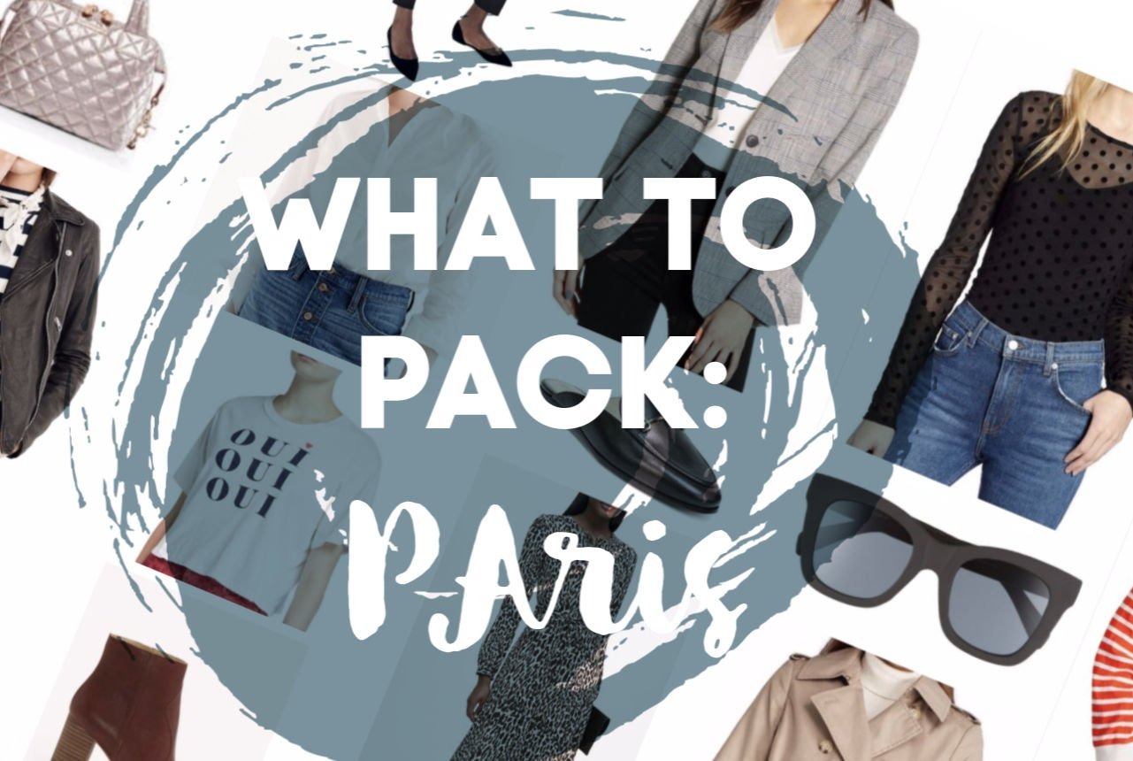 The Motherchic what to pack for Paris