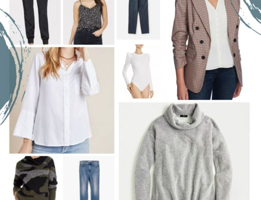 the Motherchic January capsule wardrobe