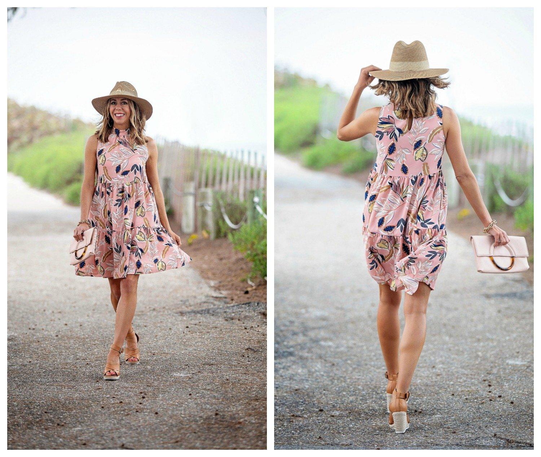gibson x the motherchic lakeshore dress
