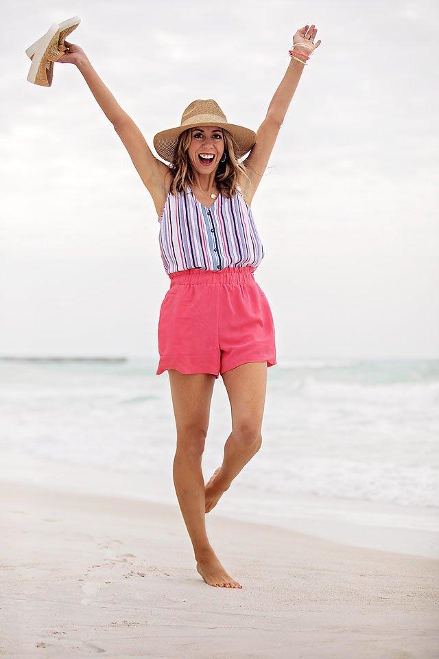gibson x the motherchic harborside shorts