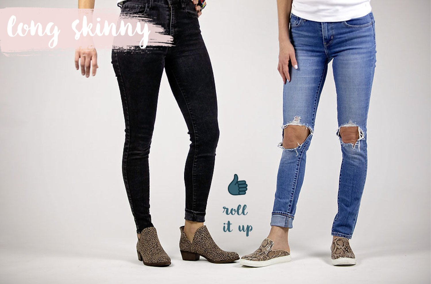 the motherchic wearing skinny jeans