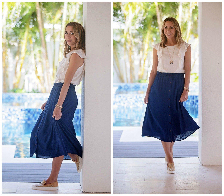 gibson x the motherchic skirt