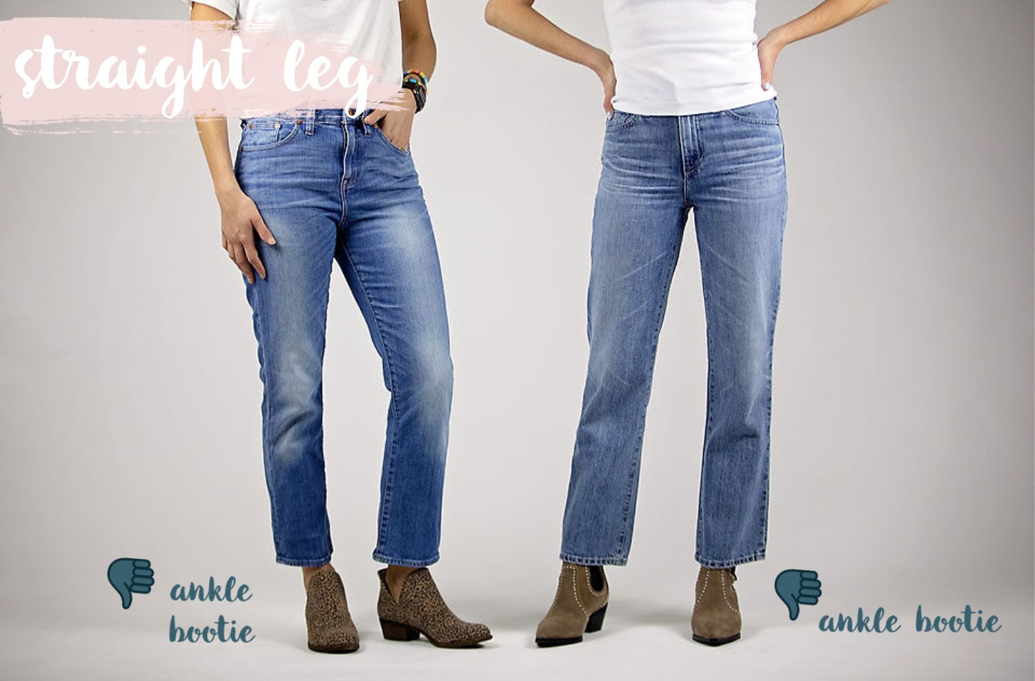 the motherchic wearing straight leg jeans