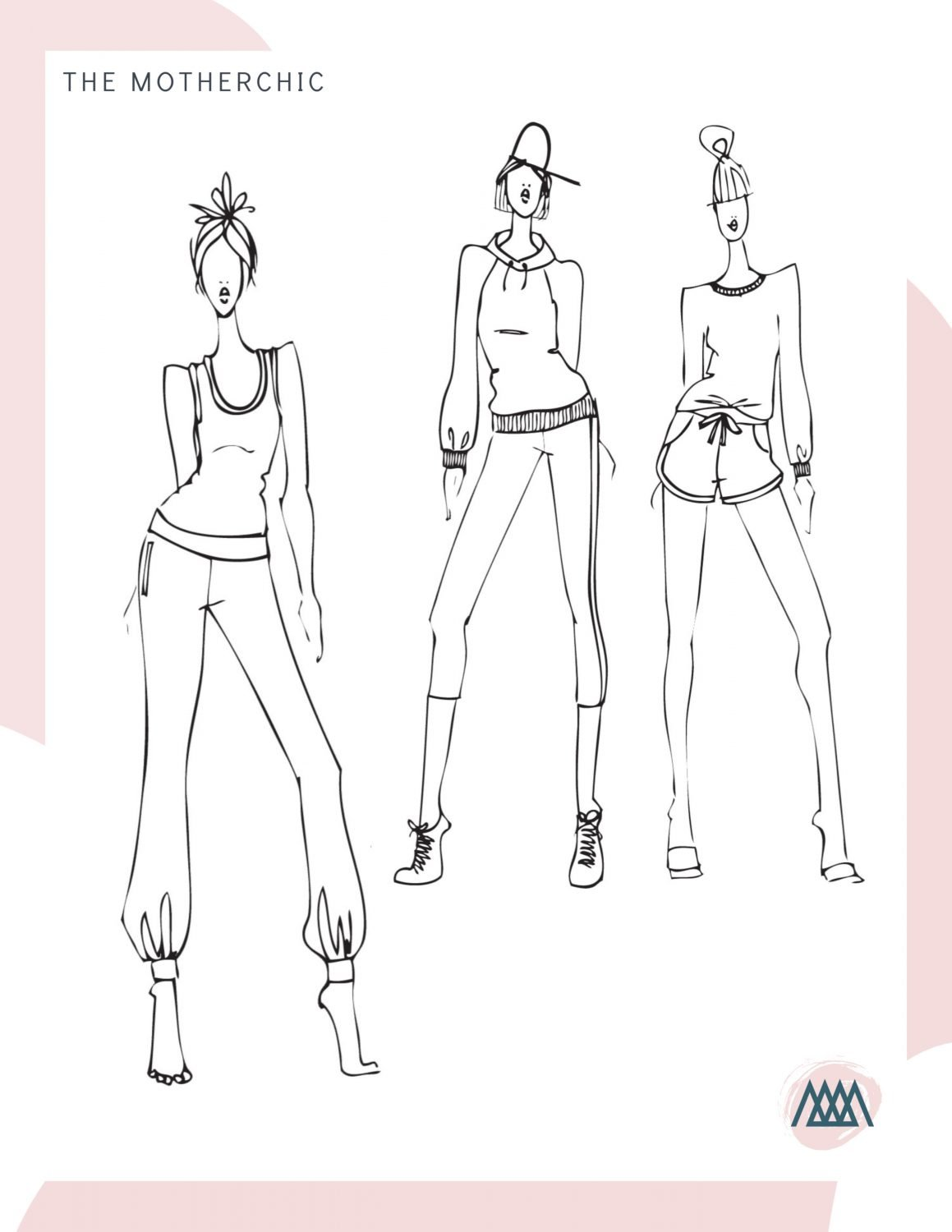 the motherchic coloring book